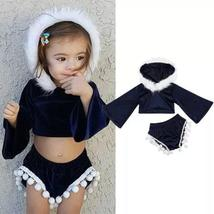 Toddler hooded tops/tassels short clothes - $12.77