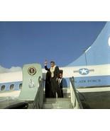 President John F. Kennedy boards Air Force One in Honolulu Hawaii New 8x... - $7.22