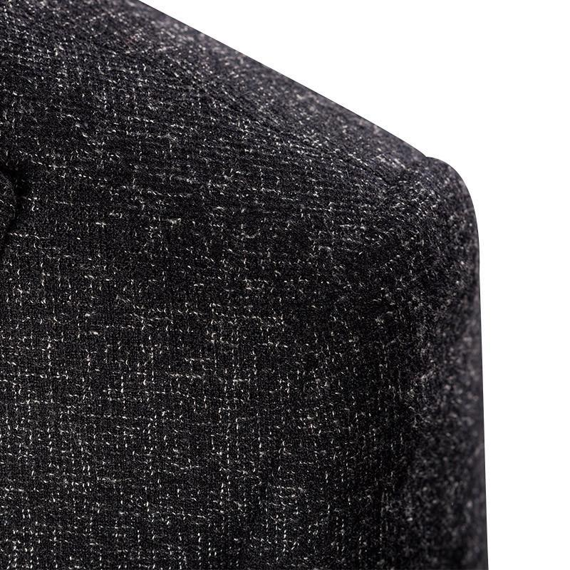 Men suits British style fashion Single button wool suit high quality 3 Sets
