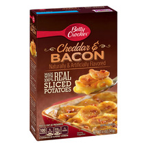 Betty Crocker Cheddar and Bacon Potatoes, 5.1 oz Box - $2.50