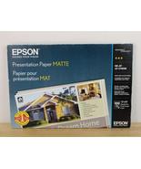 NEW Epson 13x19 Inkjet Presentation Matte Paper 100 Sheets  S041069-L  - $39.59