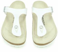 Tout Neuf Authentique Birkenstock Gizeh BS Blanc Femmes String Sandales image 5