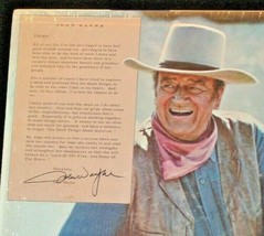 John Wayne, AMERICA , Why I love Her RCA Record AA-191743 Vintage Collectible image 2