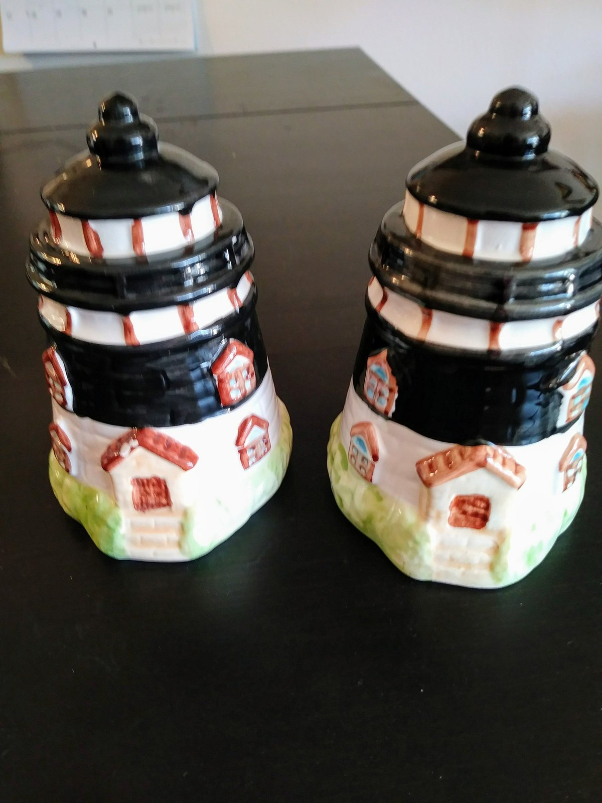 Lighthouse Salt & Pepper Thomson Pottery 2001