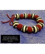 Handmade To Order - Beaded Tie Back Choker - $90.08