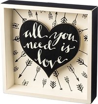 Box Sign - All You Need - Primitives by Kathy - $20.00