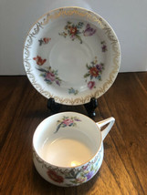 Rosenthal Donatello Floral Rose Design - Cup & Saucer China Made in Germany - $18.76