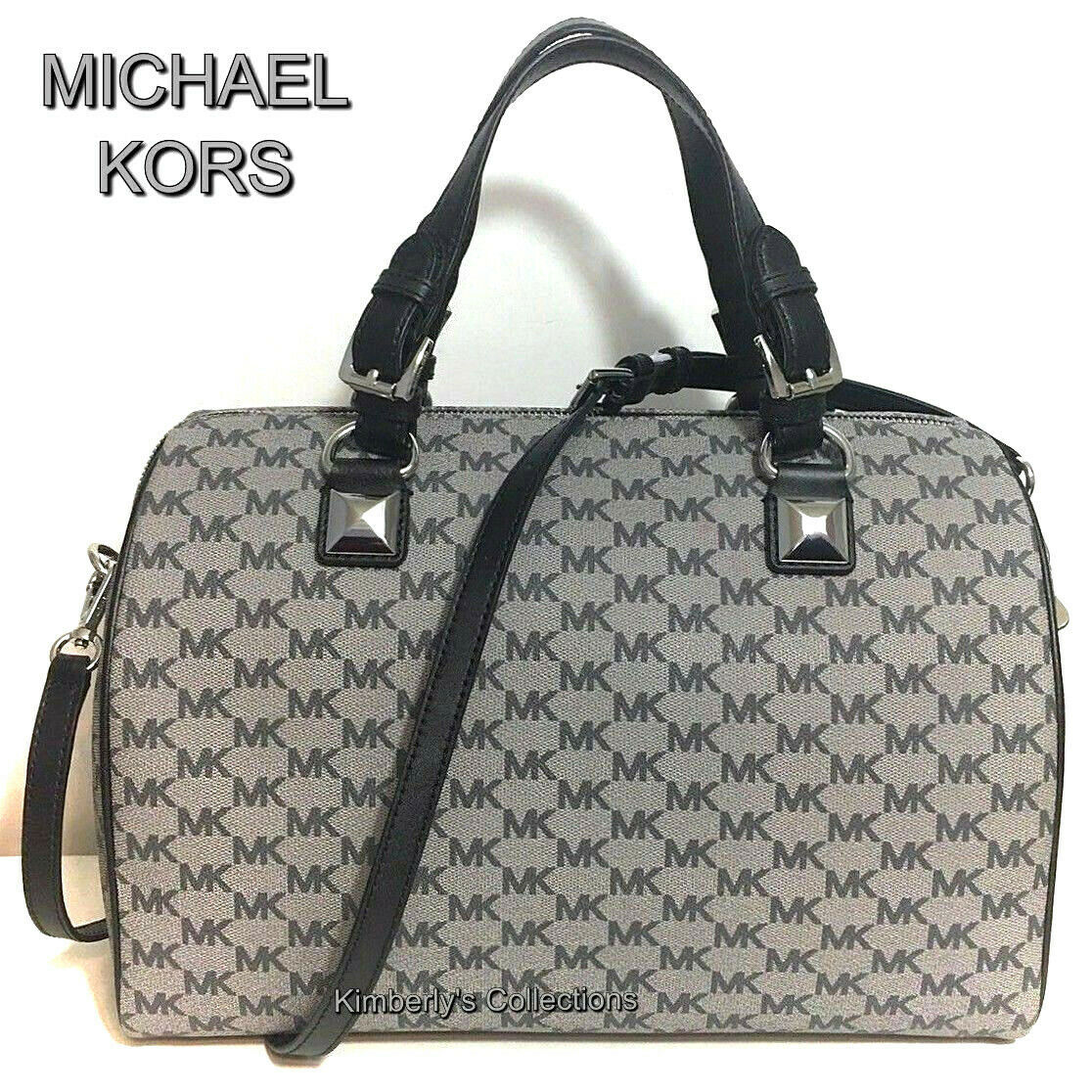 0ce20d077404e MICHAEL KORS Satchel Bag Large Grayson and 50 similar items