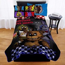 Five Nights at Freddys Kids Twin Bed Blanket - $69.50