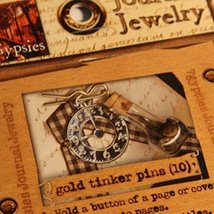 Journal Jewerly Gold Tinker Pins (10 Count) - £2.28 GBP
