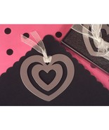 Mark It With Memories Heart Within Heart Design Bookmark - 24 Pieces - $23.95