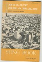 Billy Graham 1956 Louisville Crusade Song Book - $12.00