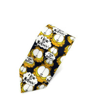 Balancine Hot Cakes Garfield I Live For Weekends Polyester Tie Necktie - $16.82