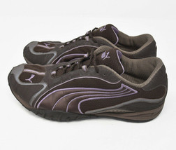 Puma Womens Sz 10 EU 41 Athletic Purple Lace Up Athletic Running Trail 182773 01 - $25.95