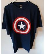 Mad Engine Marvel Captain America Men's XL T-Shirt - $16.83