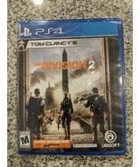 Tom Clancy's The Division 2: Playstation 4 Brand New PS4 Shooter game play - $14.21