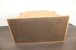 "Vintage Large 12"" Dunhill Wood Pipe & Cigar Holder Stand Rack Stash Box Tobacco image 3"