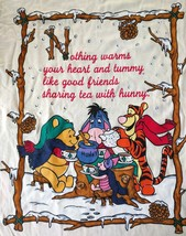 Nos Nwt Disney Winnie The Pooh Small Youth T-Shirt Made In Usa 32 Tea Party - $24.75