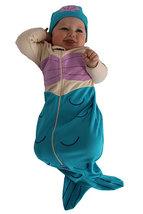 0-6 Months Baby Girls Mermaid Bunting & Cap Set - $30.00
