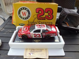 Autographed Jimmy Spencer #23 Revell Team Winston 1/18 Die Cast With COA - $97.48