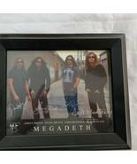 Megadeth 8 x 10 Autograph Reprint? Dave Mustaine David Ellefson Shawn Drover - $23.74