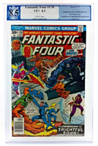 An item in the Collectibles category: FANTASTIC FOUR #178 CGC PGX 8.5 1977 FRIGHTFUL FOUR IMPOSSIBLE MAN MARVEL