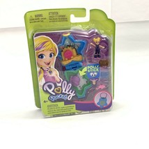 Polly Pocket Tiny Places Aqua Awesome Aquarium Dolphin Star Polly Stick ... - $14.99