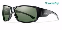 SMITH OPTICS MEN'S DOCKSIDE SUNGLASSES BLACK, CHROMAPOP POLARIZED GRAY G... - $219.00