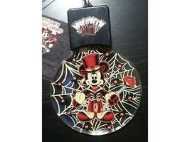 NEW Disney Parks Halloween Top Hat Mickey Light Up Glow Spider Lanyard - $14.99