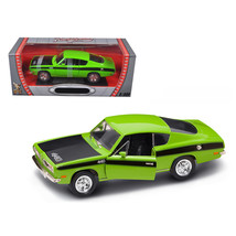 1969 Plymouth Barracuda 440 Green 1/18 Diecast Car by Road Signature 921... - $47.07