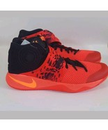 Nike Kyrie 2 Inferno Bright Crimson Atomic Orange Black Red 819583-680 S... - $140.24