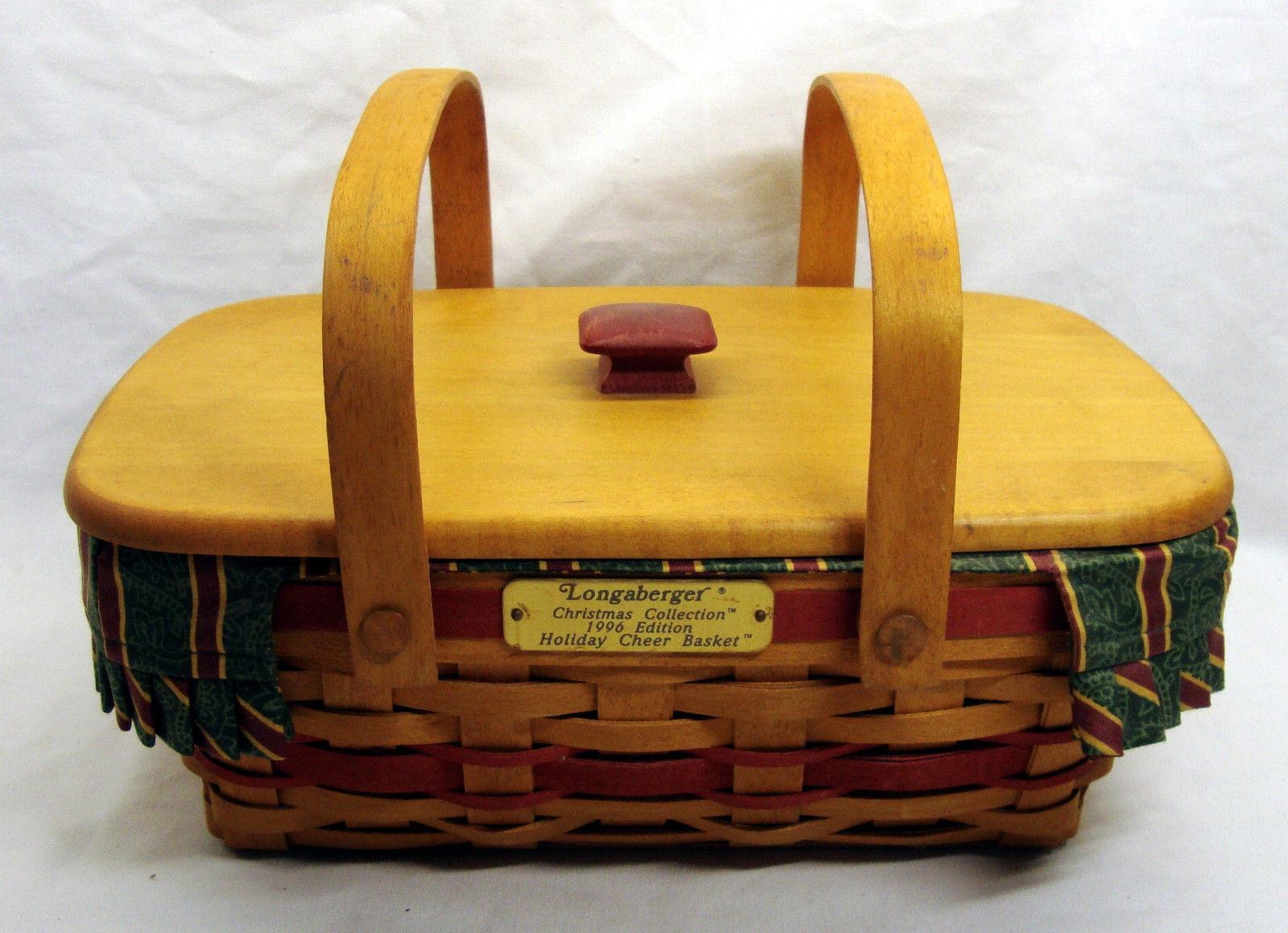 Longaberger Christmas Basket.1996 Longaberger Christmas Collection And 50 Similar Items