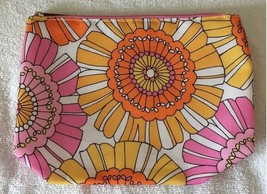 Clinique Jumbo Flowers Cosmetic Bag - $5.00