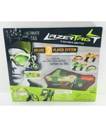 LAZER TAG Team OPS Tiger Deluxe 2 Player System 2 Taggers/2 HUD NEW NOS - $89.95