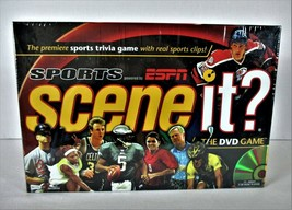 Sceneit? Sports Powered By Espn Sports Trivia Game 2005 Brand New Factory Sealed - $25.49