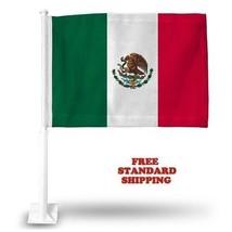"Mexico Mexican World Cup Soccer Car Flag Flags Car Window 18"" X 12"" Inch Usa - $20.00"