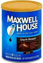 Maxwell House Dark Roast Ground Coffee 10.5 oz - $12.33