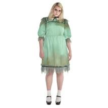 Amscan Dreadful Darling Fantôme Adulte Femmes Grande Taille Halloween Co... - $37.61