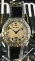 Antique Waltham Sapphire 1926 Ladies Watch 14K Gf 15J Beautiful! - $142.50