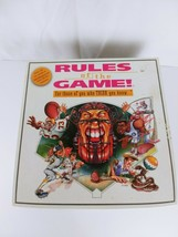 1995 RULES OF THE GAME Board Game by Gamesourc  Complete - $6.78