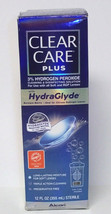 Clear Care Plus HydraGlyde Cleaning & Disinfecting Solution, 12 Oz, Exp ... - $7.03