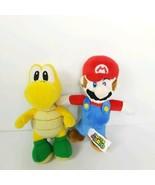 Nintendo Super Mario Bros Plush Lot 2 Toys Koopa Troopa Video Game Toy B... - $22.37