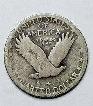 1927 Standing Liberty Silver Quarter Coin Lot 519-79 image 2