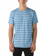 Vans Strikemont Tee Camiseta Superior Hombre S PEQUEÑA Sm Off The Wall Azul - $22.98