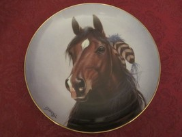 HORSE collector plate SHINING SPIRIT Derk Hansen DANBURY MINT - $19.00
