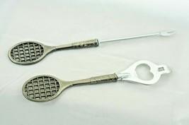 Replacement Tennis Bar Set Bottle Opener & Fork/Pick Metal - $12.13