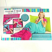 Make It Real - Fashion Collection Knot & Bling Mermaid Tail Blanket Sequins - $28.03