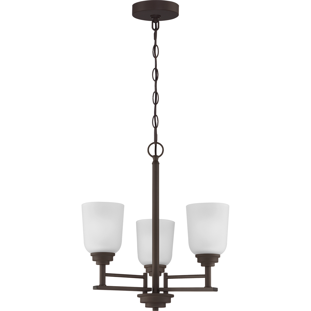Primary image for Foley 3-Light Chandelier in Old Bronze