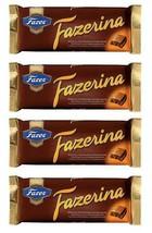FAZER Fazer Fazerina 4 x 100g Chocolate Bars Finland - $12.77