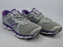 Mizuno Wave Sky Size US 9.5 M (B) EU 40.5 Women's Running Shoes Silver Purple